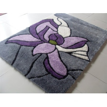 Chinese Cheaper Silk Shaggy Polyester Carpet Tile
