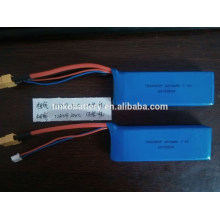 accus lipo 7.4V 2200mah 2 s hélicoptère rc polymer batterie lithium ion