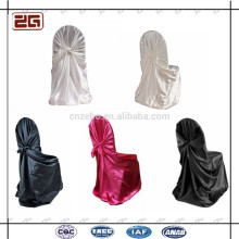 Factory Directly Supply Polyester Satin Universal Wedding Chair Covers