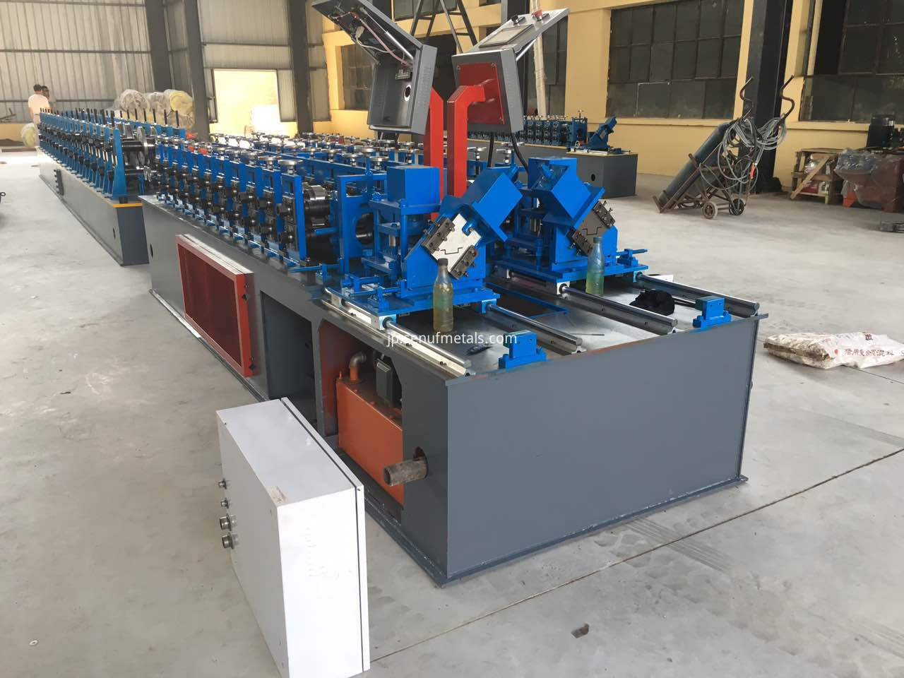 indepent double out light steel keel forming machine