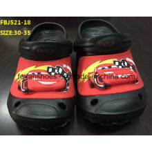 Os calçados leves os mais atrasados da forma das sapatas de jardim de EVA para crianças (FBJ521-18)