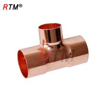 B 4 10 conexiones de cobre del anillo de la soldadura iguales tee de cobre de la camiseta de 3 vías