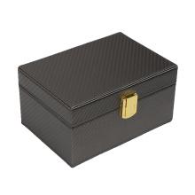SHBC Handmade High Quality Leather Keyless Car Signal Blocker Box RFID case