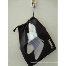 Sac de chaussure en nylon polyester 190d (HBSH-15)