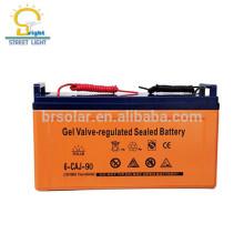 energia verde totalmente selada OEM disponível baterias de armazenamento de energia solar