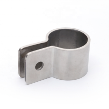 high quality custom made brushed 304 stainless steel pipe clamp