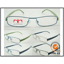 Hot Selling Colorful Tr90 Temples Metal Optical Frames (WRM503023)