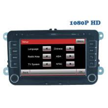 2 DIN Spéciale Lecteur DVD de voiture pour navigation GPS Vw avec Bluetooth / Radio / RDS / TV / Can Bus / USB / iPod / HD fonction écran tactile (HL-8785GB)