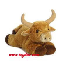 Weich gefüllte Tierspielzeug Kuh