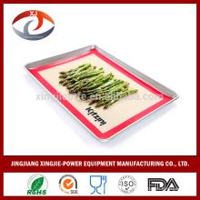Venta al por mayor no Stick de silicona para hornear la alfombra de azucar art sheet Macarons estera 40X60CM