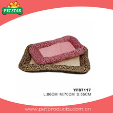 Burberry estilo suave ropa de cama, cama acogedora perro (yf87117)