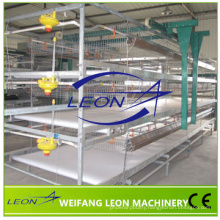 Leon series poultry cage feeding system H type poultry cage