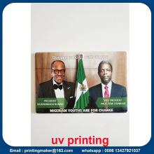 Servicio de impresión UV de cama plana en acrílico
