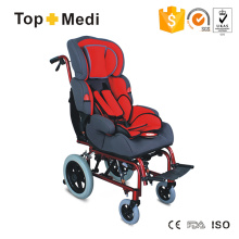 CE-zertifizierter Zerebralparese Kinderrollstuhl Kinderrollstuhl