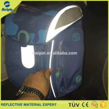 High Visibility Good Quality Reflective PVC Piping for Clothing and Bags