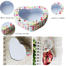 Clear PVC Window Metal Sex Medicine Packaging Box