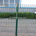 Komersial Galvanized steel Curved 3d Mesh Fence