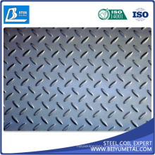 JIS Ss400 SPHC Hot Rolled Chequered Steel HRC