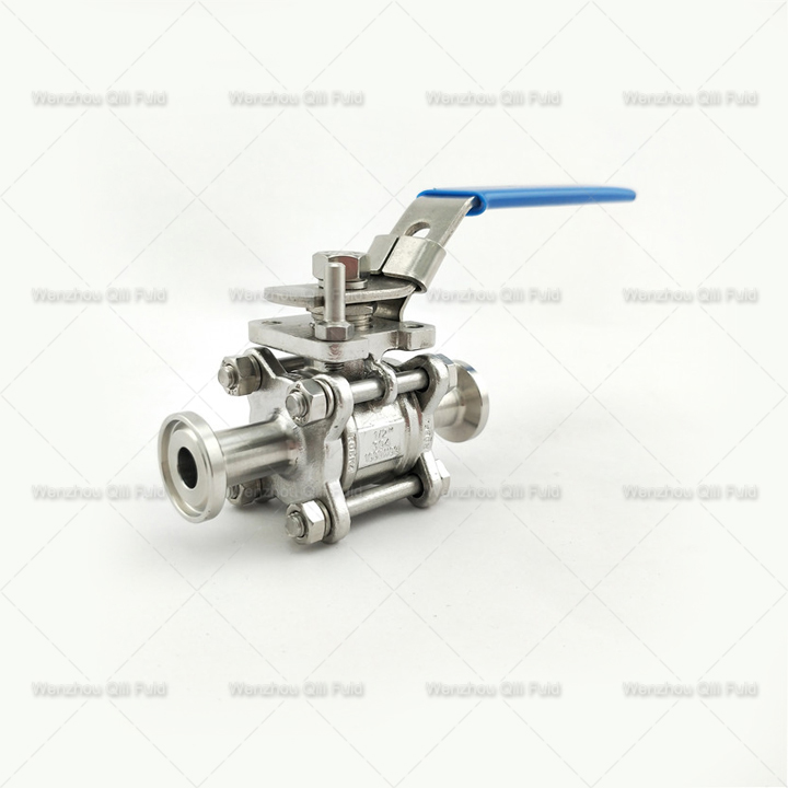 Clamped 3pcs Ball Valve x (3)