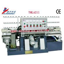 YMLA211 Mini maquinaria de canteado de vidrio de línea recta