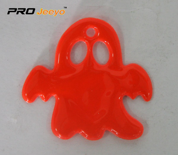 Red Pvc Ghost Shape Pendant Rv 210 3 Orange