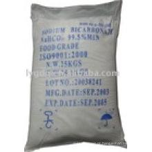 Bicarbonato de sódio de qualidade alimentar e grau industrial