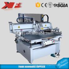Motor driving silk screening printing machine with vacuum table