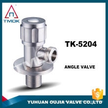 "bathroomfittingstainless steel angle valve 1/2""*3/4"" 316/304 control valve for hot garden cock water toilet plumbing 90 degree"