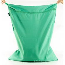 Washable Dirty Clothes Storage Bag Travel Drawstring Nylon Laundry Waterproof Wash Bag