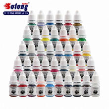 Solong tattoo mix color tattoo ink cheap permanent makeup ink