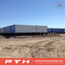 20FT Standard Container House as Prefabricated Hotel Building