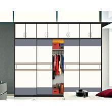 Nouveaux armoires en bois coulissantes en bois brillant (personnalisées)