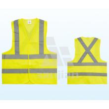 Jy-7008 Gelbe Polyester Reflektierende Sicherheitsweste