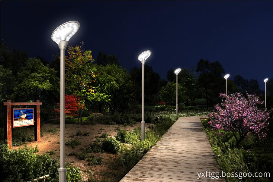 FU-TAO High Quality Q235 Q345 Hot Dip Galvanized solar post lamp