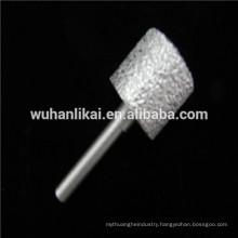 """1.4"""" diameter sharp Vacuum Brazed diamond finger bits grinding stone"""