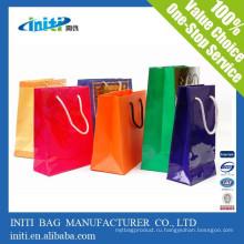 Китай оптовой дешевой моды крафт-бумаги переработка мешок