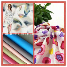 Polyester-Pongee mit Druck-Design für Bekleidung