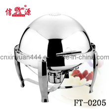 201 Hotels Ware Edelstahl Roll Top Chafing Dish (FT-0205)