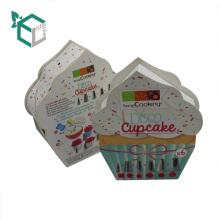 2017 neue Design Benutzerdefinierte Spezielle Form Kuchen Schnitzen Zubehör Verpackung Papierkästen
