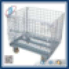 Проволочная стальная ячейка для хранения контейнеров