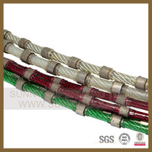 Rubber &Spring Diamond Wire Saw for Concrete and Reinforced Concrete Cutting