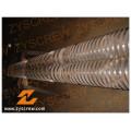 Wear Resisting Bimetallic Mixing Type Conical Twin Screw Zyt365