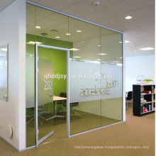 10mm 12mm high quality best price density toughened tempered glass for office door