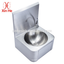 Stainless Steel 304 or 316 Knee Operated Wash Basin