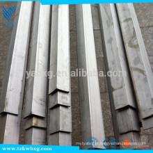 Certificação ISO AISI 308L Vigas em ângulo de aço inoxidável