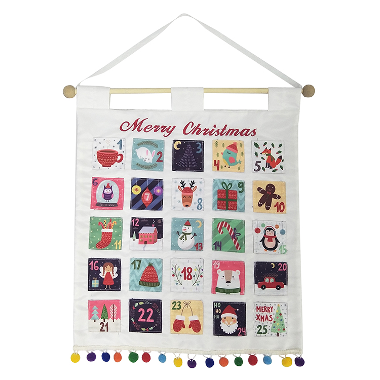 New Style White Christmas Advent Calendar
