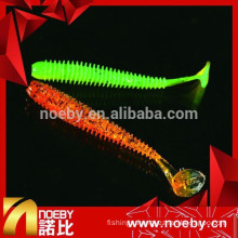 NOEBY New Vivid Swim Action Saltwater Sea Artificial Soft Plastic Bait Fishing Lures