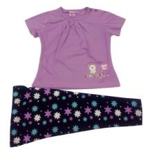 Traje de niña de verano para niños en ropa de niños