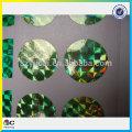 Promotion customized luminous colorful adhesive sticker glitter paper