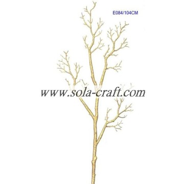Gold Fake DIY Tree Branch For Christmas Decoration With 115CM